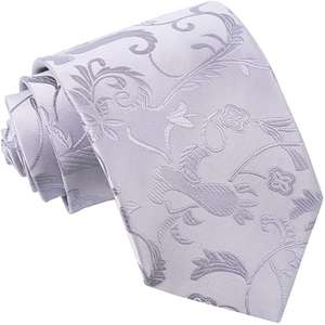 Men Passion Floral Patterned Wedding Formal Casual Groom Best Man Classic Regular Standard 9cm Neck Tie for £6.99 by DQT at Amazon