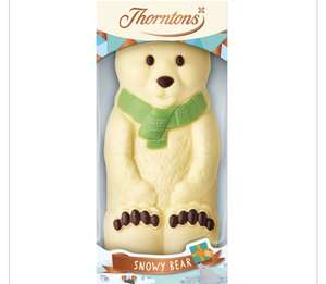 Thorntons Large Hollow Snowy Bear 200g £1 at Wilko Derby