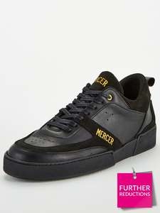 Mercer Madison Trainers - Charcoal/Black - £59.75 at Very