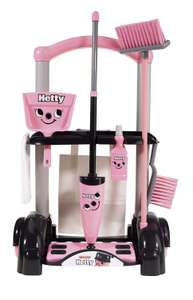 Casdon Hetty Cleaning Trolley - Pink £8 (Prime) £12.49 (Non-Prime) @ Amazon
