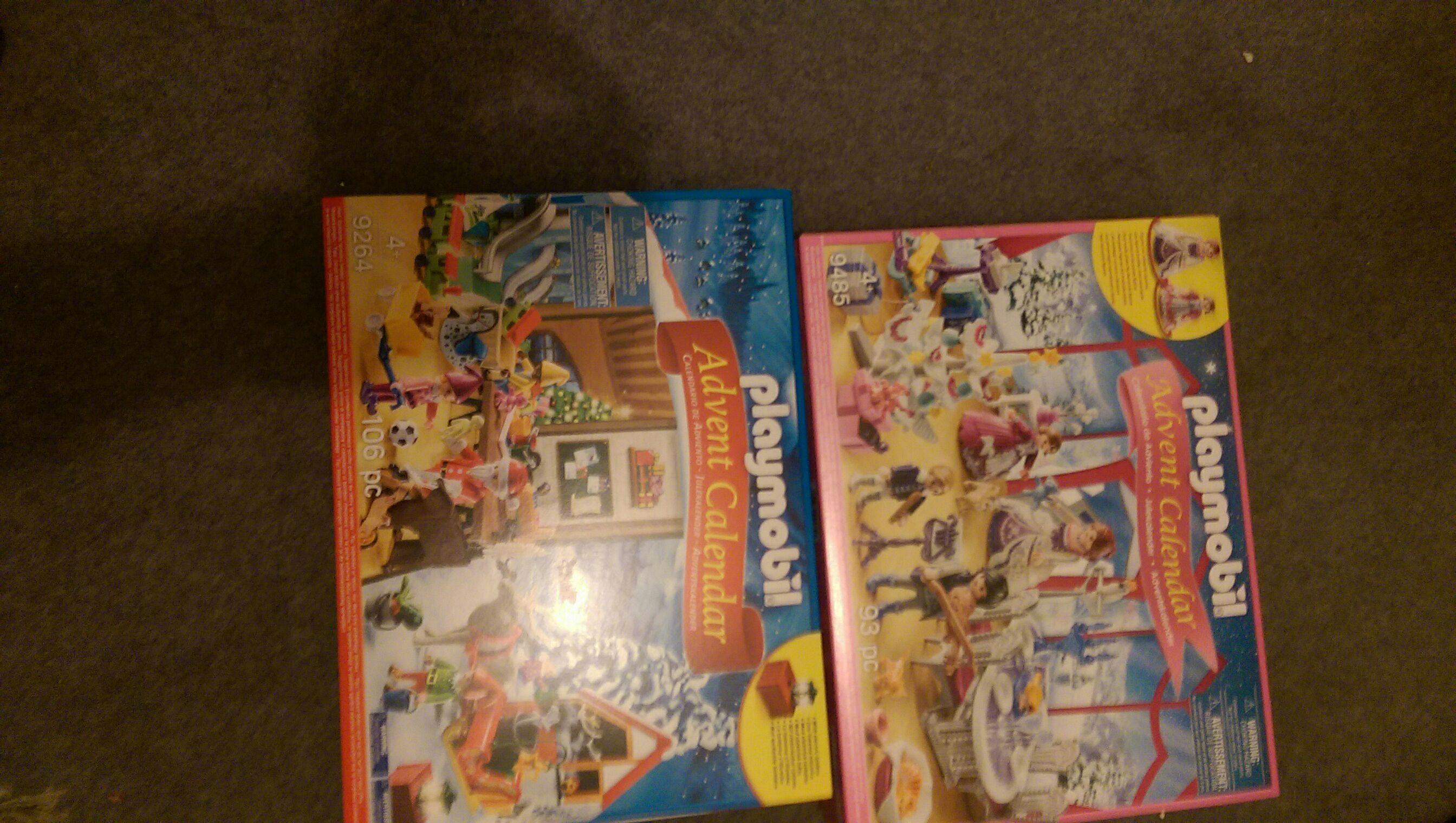 Playmobil Advent Calendars £3 at Hobbycraft Preston Lancashire