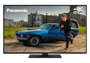 Refurbished Panasonic TX-49GX555B 49 Inch SMART 4K Ultra HD HDR LED TV Freeview Play £179.99 at Panasonic eBay