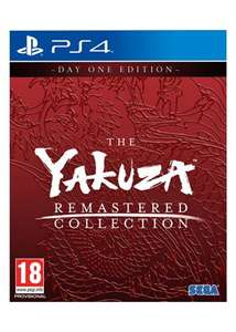 Yakuza Remastered Collection (PS4) £37.85 at Base.com