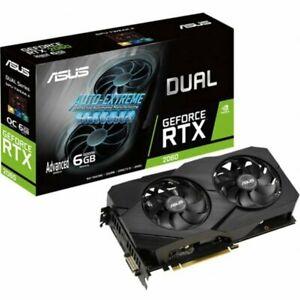 Asus GeForce RTX 2060 Advanced EVO 6GB Graphics Card £259.72 ebuyer_uk_ltd eBay