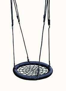 Kids Spider's Web Rope Swing with 65cm Seat NOW £23.88 delivered with code at hiks-products eBay