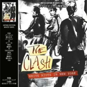 The Clash - White Riots In New York Live 1979 [WHITE VINYL] [LIMITED EDITION] - £9.99 @ Amazon Prime (+£2.99 non-Prime)