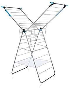 Minky Extra Wing Indoor Airer with 24 m Drying Space, Metal - £19.99 (+ £4.49 NP) Delivered with Amazon Prime