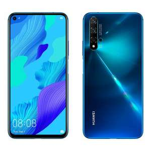 "New Huawei NOVA 5T 6.26"" - All colours - Unlocked Smartphone, 6GB RAM, 128GB Storage £279.99 @ laptopoutletdirect / ebay (£277.16 after TCB)"