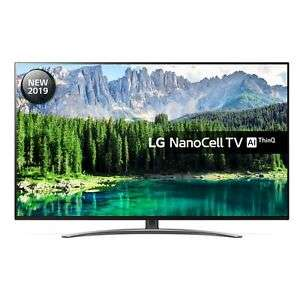 "LG 49SM8600PLA 49"" NanoCell Ultra HD 4K TV HDR Dolby Vision 5 Year Warranty @ Hughes Direct eBay"