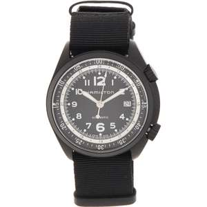Hamilton Black Pilot Pioneer Automatic Watch £349.99 @ TK Maxx