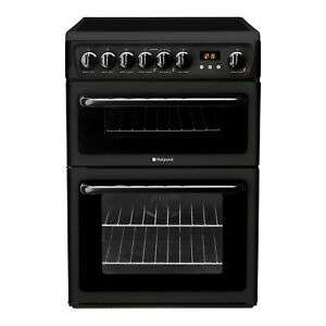 Hotpoint HAE60KS Electric Cooker with Ceramic Hob - Black £319.20 @ Hughes / Ebay