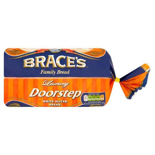 Braces family bread 800g white/wholemeal/sunblest 50p @ iceland