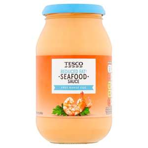 Tesco Reduced Fat Seafood Sauce 500Ml On Offer 50p A Jar At Tesco Instore & Online