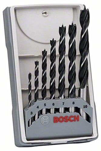 Bosch X-Pro 3/4/5/6/7/8/10 mm Wood Drill Bit Set £4.99 at Amazon (+£4.49 Non Prime)