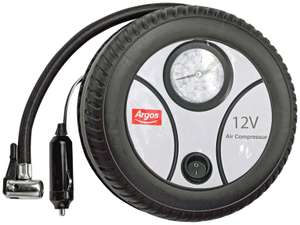 Analogue Tyre Inflator & Adaptor kit - 12V - £6.00 @ Argos ( free click and collect )