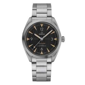 OMEGA Seamaster Railmaster Co-Axial Master Chronometer Automatic Men's Watch £2,616 with voucher code @ Beaverbrooks