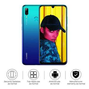 """New Huawei P Smart 2019 Blue 6.21"""" 64GB LTE Octa Core Android 9.0 Sim Free UK now £126.39 with code at technolec_uk eBay"""