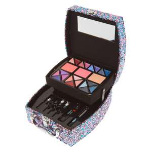 Unicorn Glitter Mega Case Beauty Gift Set £10 with Free Click and Collect in up to 70% Sale @ Claire's