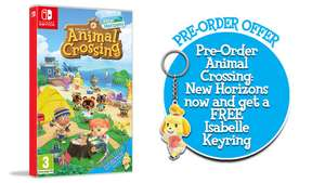 Animal Crossing New Horizons + Pre-Order Keyring (Switch) £41.85 (Preorder) Delivered @ Simply Games