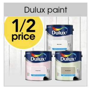 Dulux standard emulsion 50% off at checkout - Now from £7.50 - £2 order & collect @ Wilko