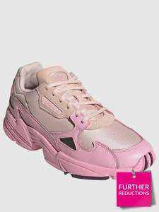 adidas Originals Falcon Trainers - Pink Now £34.00 with Free Click and Collect From Very