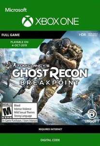 Tom Clancy's Ghost Recon: Breakpoint (Xbox One) - £19.19 @ Eneba