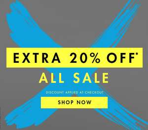 Extra 20% off sale items at M&Co - discount applied at checkout