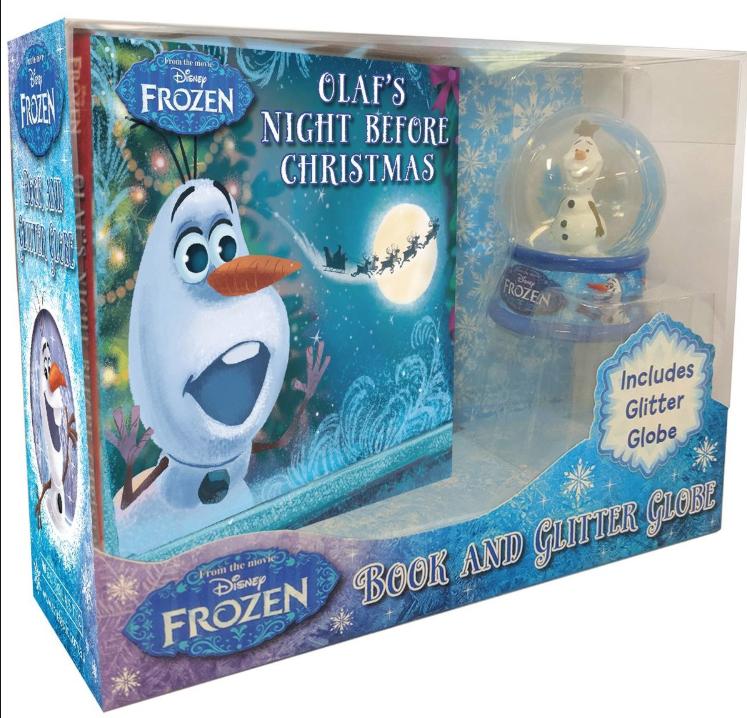 Tesco Instore Bar Hill - Olaf Night Before Christmas Book and Glitterglobe £1