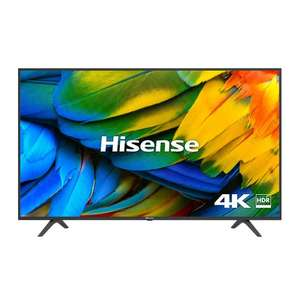 """Hisense H65B7100UK (2019) LED HDR 4K Ultra HD Smart TV, 65"""" with Freeview Play + 6 Year Guarantee - £489 delivered @ Richer Sounds"""