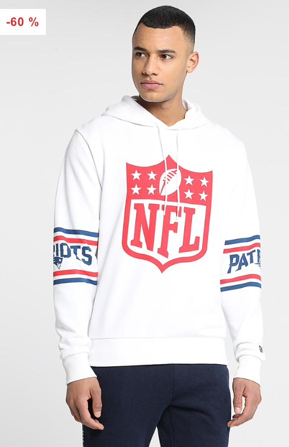 New Era NFL Patriots Hoody now £24 sizes S up to XL @ Zalando Free Delivery