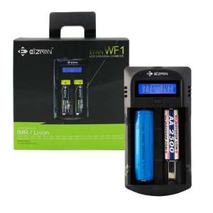 EFAN WF1 LCD 2 Bay Intelligent Battery Charger for Li-ion IMR & AA AAA Batteries £7.99 @ 7dayshop