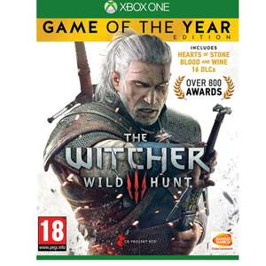 The Witcher 3 Wild Hunt - Game Of The Year - Xbox One - £13.85 at Base.com