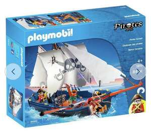 Playmobil 5810 Pirate Ship Playset and other Play Mobil sets £19.99 at Home Bargains Liverpool
