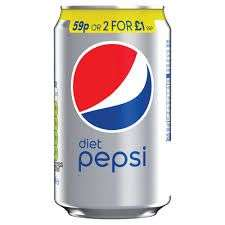 Diet Pepsi 330ml cans - 4 for £1 in-store @ Heron Foods national (works out 25p a can)