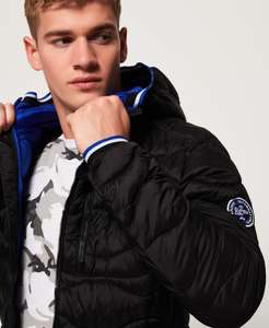 Superdry Wave Quilt Jacket. All sizes available - £45 @ Superdry