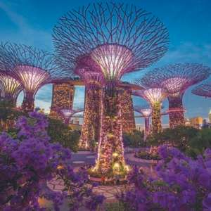Direct Qantas return flight to Singapore £402 (Departing LHR / Mar & May departures / Including 30kg Checked baggage) @ Skyscanner/Travel Up