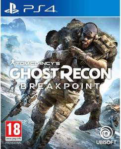 Ghost Recon Breakpoint (PS4) - £19.99 delivered @ Base