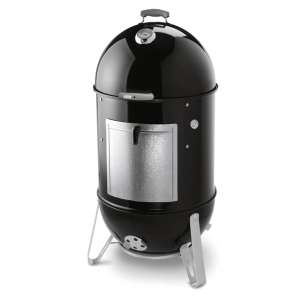 Weber® Smokey Mountain Cooker™ 57cm Black Charcoal Smoker With Cover + Free Igrill 2 With 2 Probes £345 BBQ World