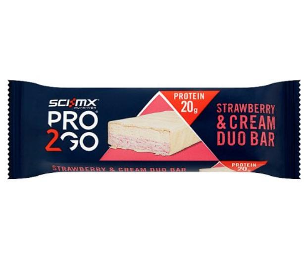 Sci-Mx Pro 2GO Duo Protein Bar 49p @ Home Bargains Nottingham