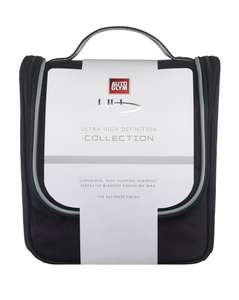 Autoglym Ultra High Definition collection - full size wax and shampoo, wax applicator, micro fibre cloth and carry bag £42 @ Halfords