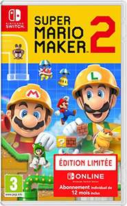 Super Mario Maker 2 Limited Edition (inc 12 months of Nintendo Online) - £39.77 @ Amazon France
