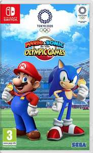 (Nintendo Switch) Mario & Sonic at the Olympic Games Tokyo 2020 £31.16 @ The Game Collection / eBay