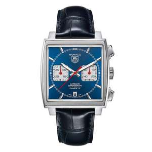 TAG Heuer Monaco Automatic Chronograph Men's Watch £2,796 at Beaverbrooks