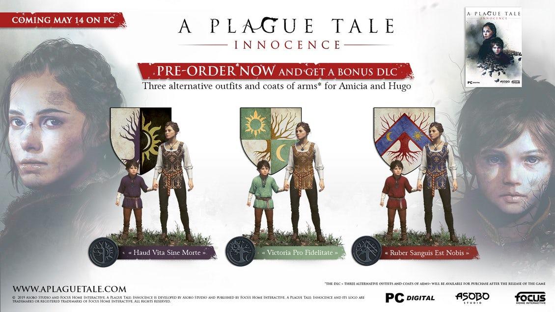 A Plague Tale: Innocence (Steam) now £19.59 at Fanatical