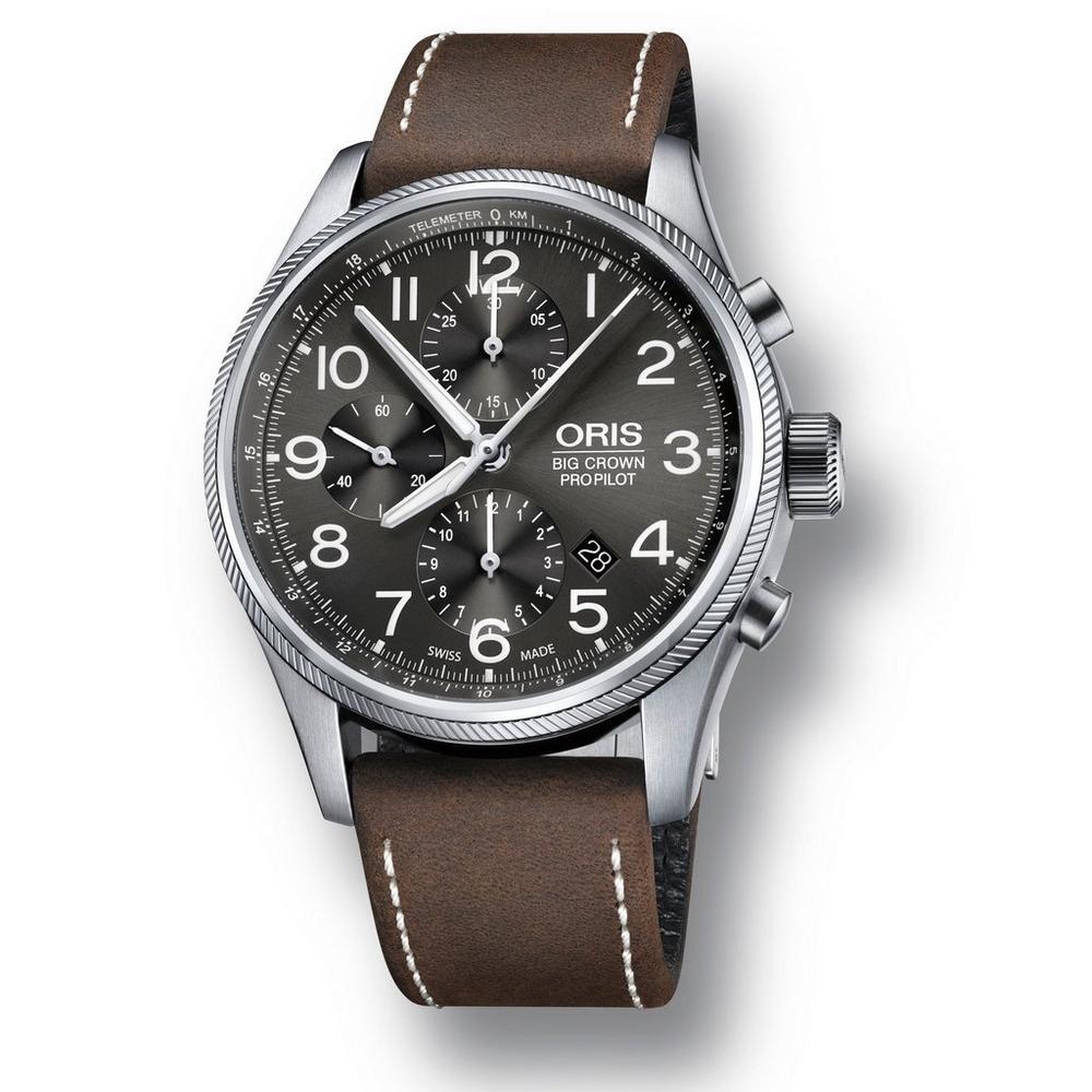 Oris Big Crown Pro Pilot Automatic Chronograph Men's Watch £1,480 at Beaverbrooks