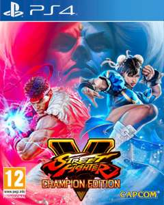 Street Fighter V Champion Edition (PS4) £20.95 (Preorder) Delivered @ The Game Collection