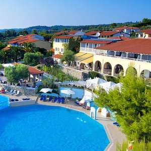 6 Nights Halkidiki Greece Full Board April/May - 3 people (2a/1c) 4* Hotel + LGW Rtn Flights = £143pp (£431 total) @ Voyage Prive