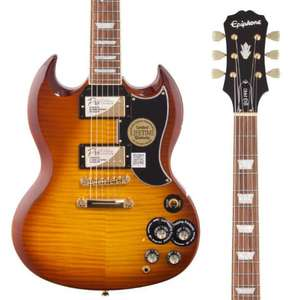 Epiphone Limited Edition G-400 Deluxe PRO Electric Guitar in Honey Burst £239 Delivered Next Day @ PMT