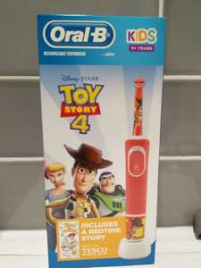 Toy Story 4 Oral-B rechargeable toothbrush £8.75 in Tesco Chesterfield
