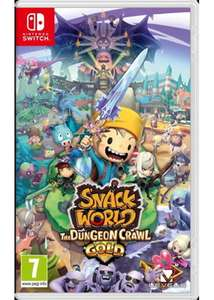 Snack World : The Dungeon Crawl GOLD (Nintendo Switch) Preorder - £34.85 @ Base.com